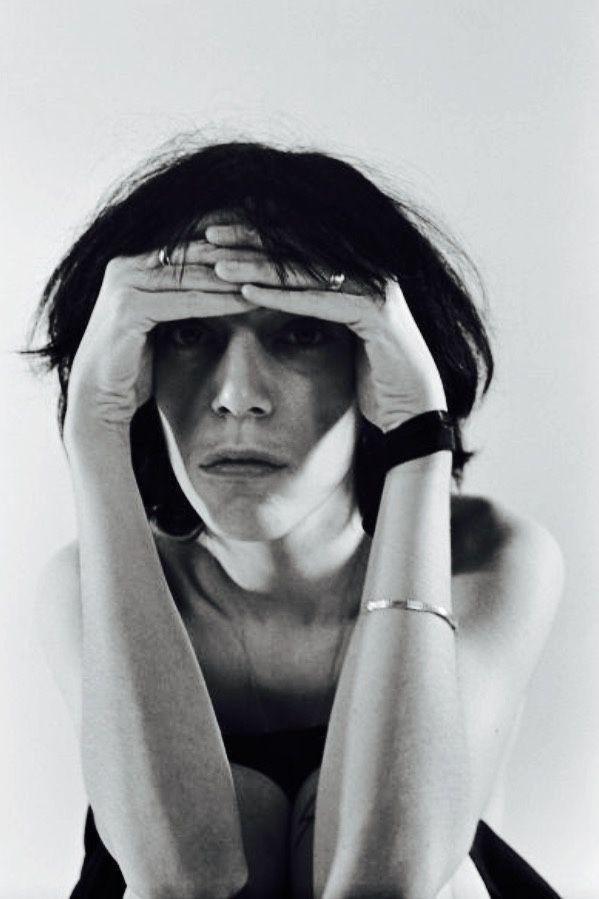 Patti Smith photographed by Michael Ochs, 1974.