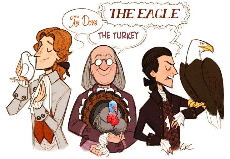 What sort of bird shall we choose as the symbol of our new America? - 1776 Musical