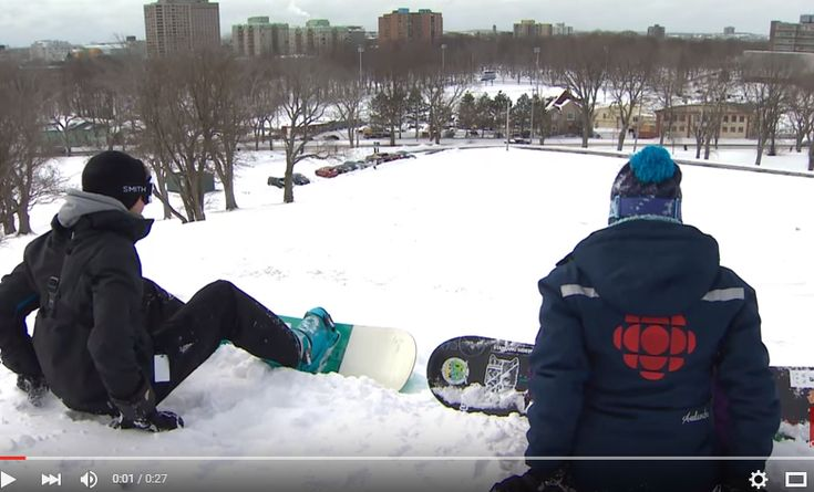 Just another day at the office for CBC Nova Scotia's Stephanie vanKampen.