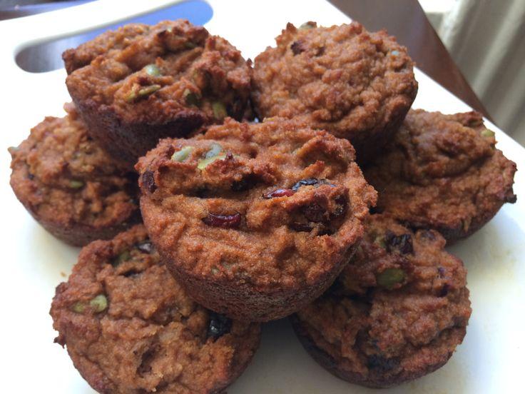 Paleo Cranberry Breakfast Muffins