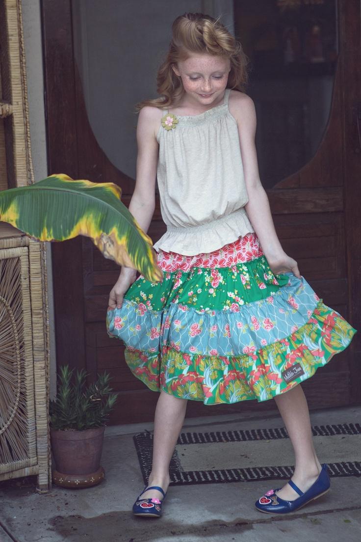Good Hart Spring 2013 Simpleton Tank Main Street Skirt