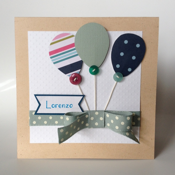 Card for a young boy