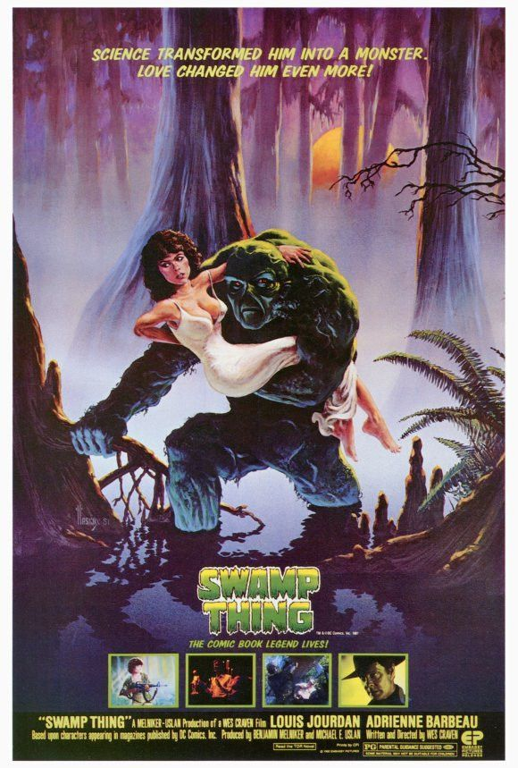 Swamp Thing 27x40 Movie Poster (1982)
