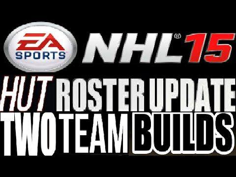 NHL 15 HUT 2 Roster Builds **Free Card Roster & Regular Roster**