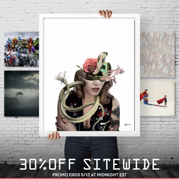 No matter what you want, it's 30% OFF!   Use code ART30: https://www.curioos.com/giffyart/promo