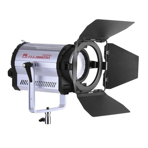 (432.49$)  Buy here  - FalconEyes CLL-1600TDX 160W Bi-Color 3000K-8000K Photo Studio LED SpotLight Photography Studio Video Light with Barn Door CRI95+ DMX 512 System