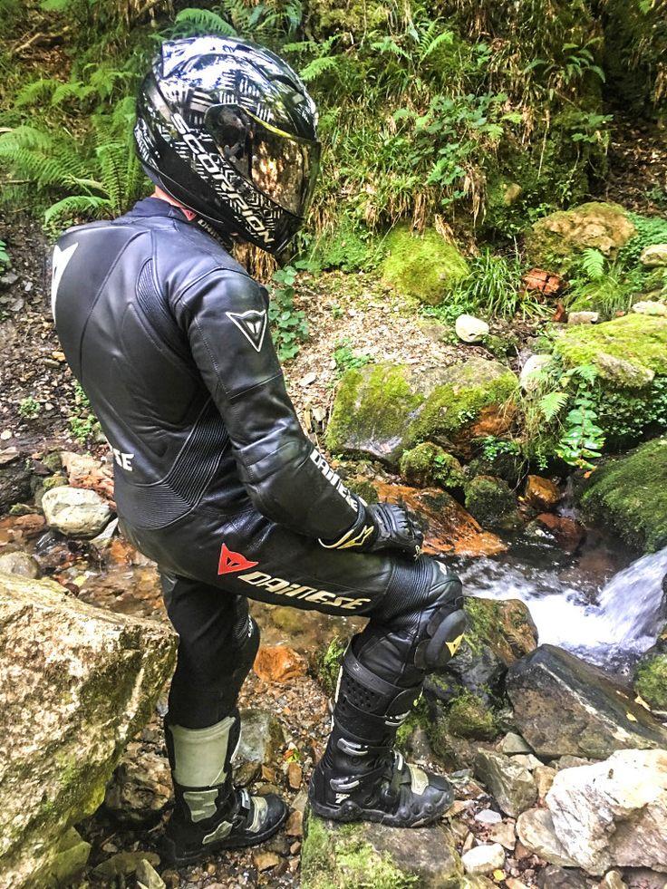 Male biker bondage