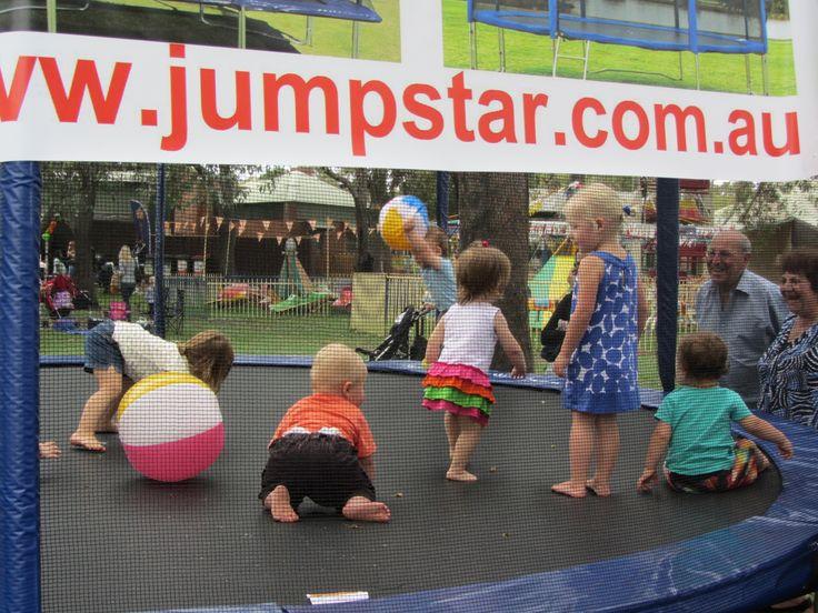 Jump Star at Playgroup WA fun day 2013