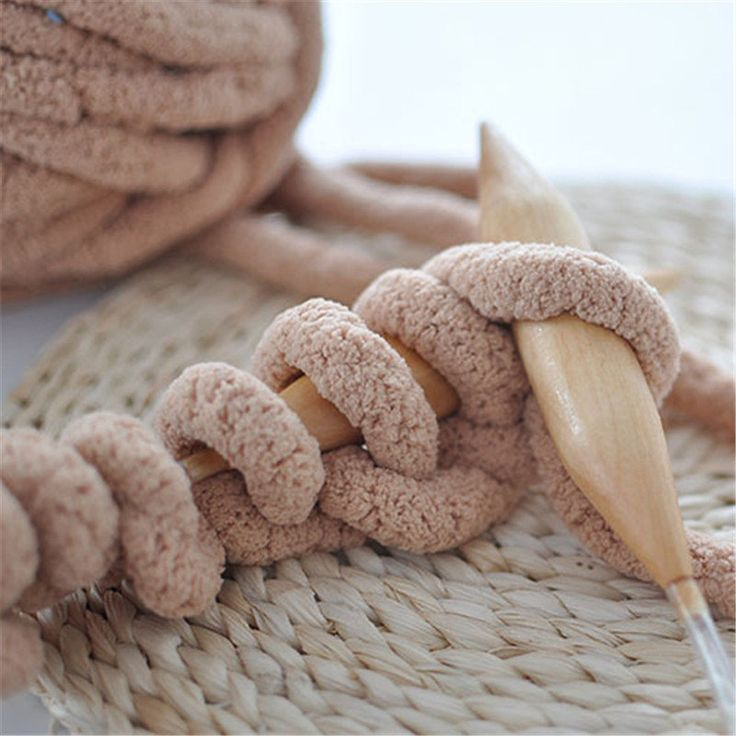 20mm Circular Knitting Needles Plastic Bamboo DIY Craft Smooth Yarn Stitches Crochet Hooks New Year