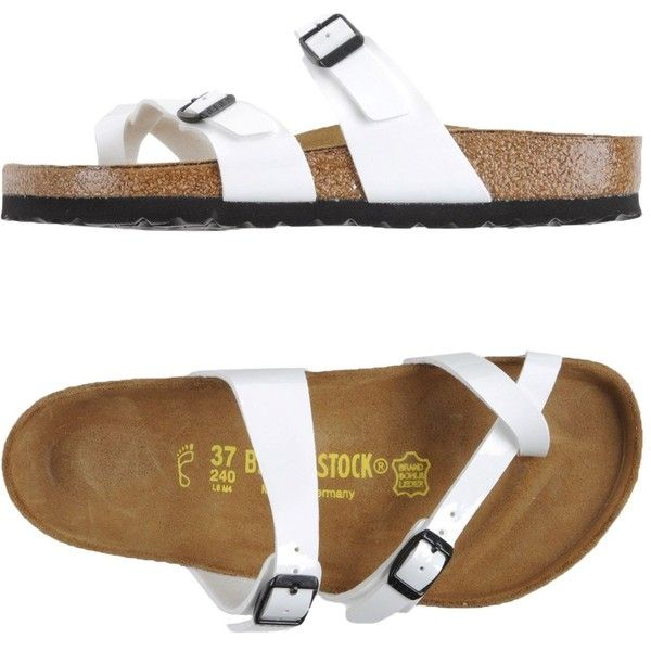 c44b0200562b Birkenstock Thong Sandal ( 79) ❤ liked on Polyvore featuring shoes ...