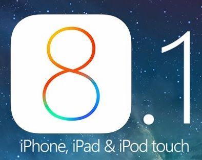 APPLE iOS 8.1 Güncellemesi