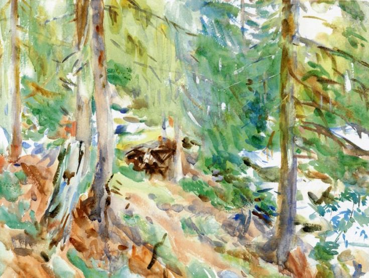 Val DAosta, Purtud 1909. Джон Сингер Сарджент