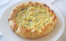Thermomix Recipes: Zucchini and Ricotta Quiche with Thermomix