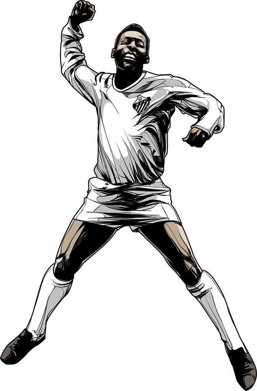 Pelé by Cristiano Siqueira
