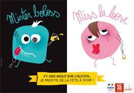 J'y vais Molo sur l'alcool !  Le CCAS lance une campagne de sensibilisation et prévention à la consommation d'alcool sur les lieux festifs, lancée à l'occasion du FIMU 2013 sous forme de sous-verre, de dépliants informatifs et d'affiches.