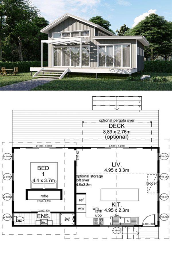 Billabong Designer Tiny Kit Home 52m2 34 892 By Imagine Kit Homes Tinyhome Tinyhouse Tiny House Trailer Small Tiny House Tiny House Floor Plans