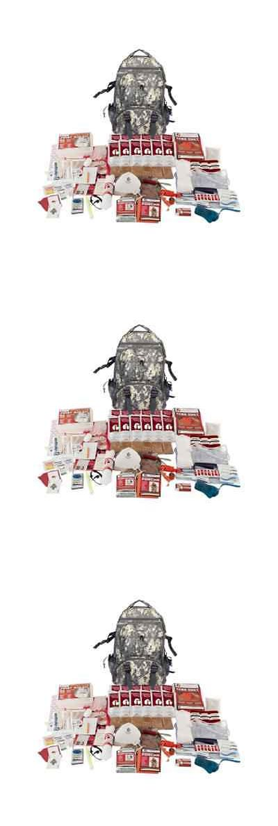 Other Emergency Gear 181415: Zombie Survival Kit Bug Out Bag Backpack Be Prepared Camo Grab And Go Elite New -> BUY IT NOW ONLY: $99.5 on eBay!