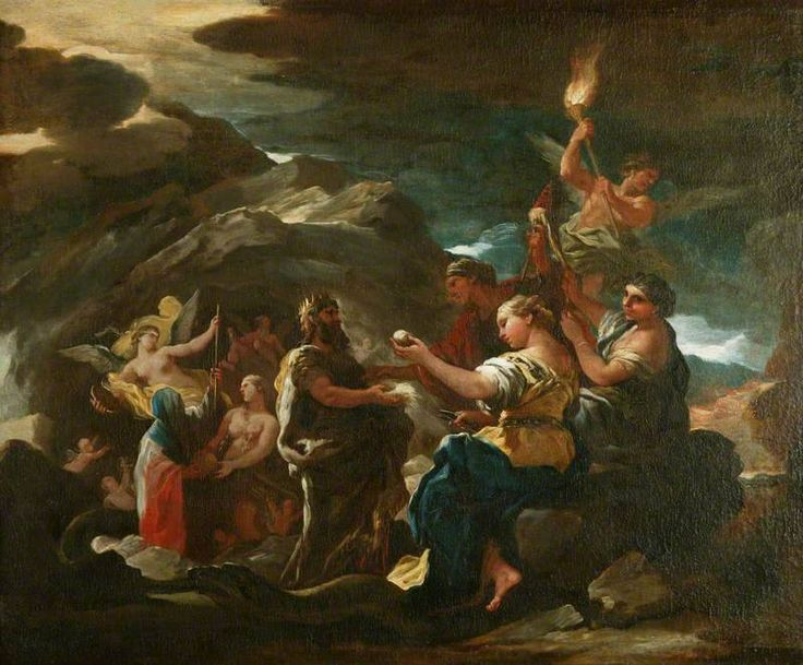 The Cave of Eternity Luca Giordano (1634–1705) Manchester Art Gallery