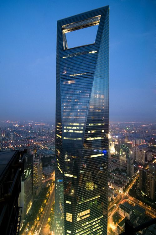 Shanghai, China.  World Financial Center