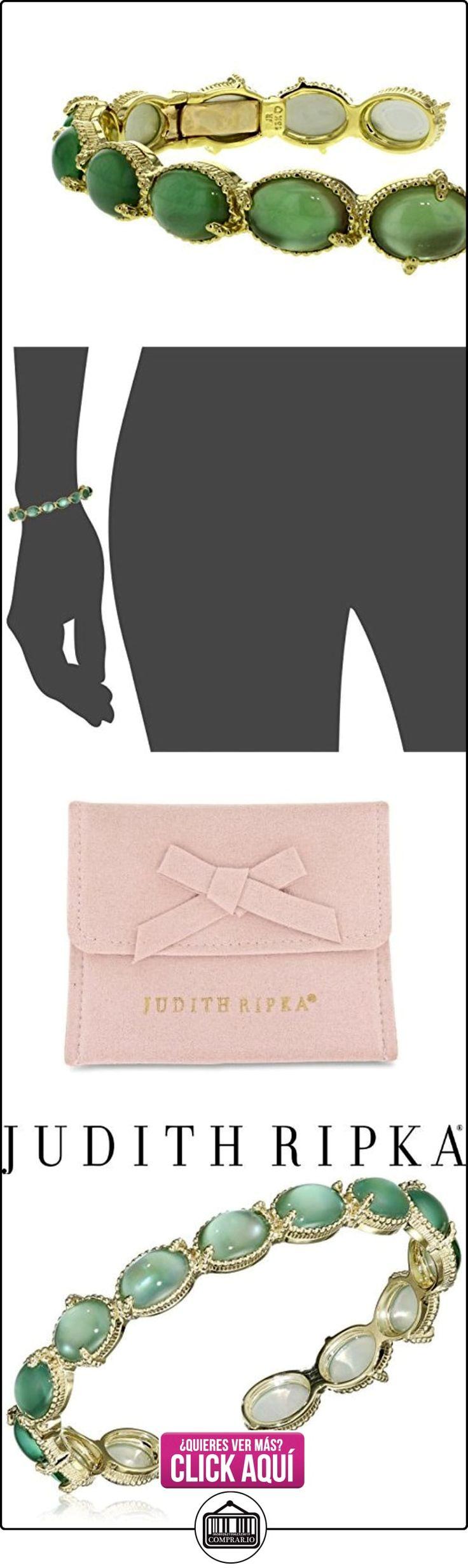 The Judith Ripka Companies, Inc Brazalete de Mujer Oro Amarillo 18 k (750) Cuarzo Verde Talla Ovalada  ✿ Relojes para mujer - (Lujo) ✿ ▬► Ver oferta: http://comprar.io/goto/B00QGJ07HA
