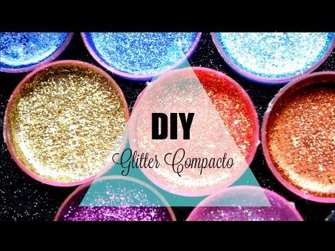 Haz sombras con Glitter //DIY Glitter Injections - YouTube