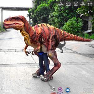 Adult Dinosaur Suit Red Raptor-DCRP706 – Mcsdinosaur