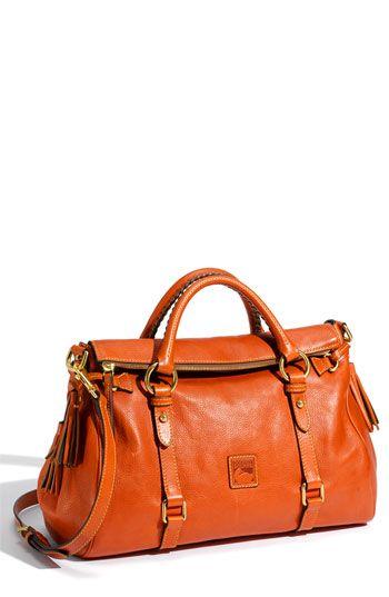 IN LOVE W/ Dooney & Bourke 'Florentine' Vachetta Leather Satchel