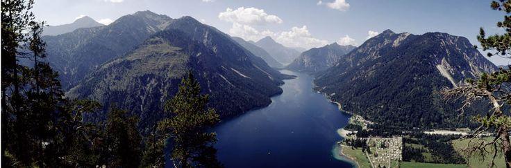 Nature Park Tyrolean River Lech, Ruette Austria