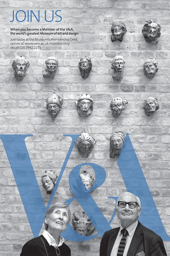 """THE VICTORIA AND ALBERT MUSEUM (V&A Museum): """"V&A MEMBERSHIP POSTERS""""…"""