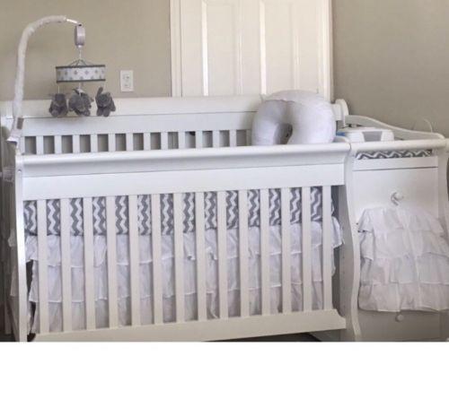 New Levtex Baby Willow 4 Piece Crib Bedding Set