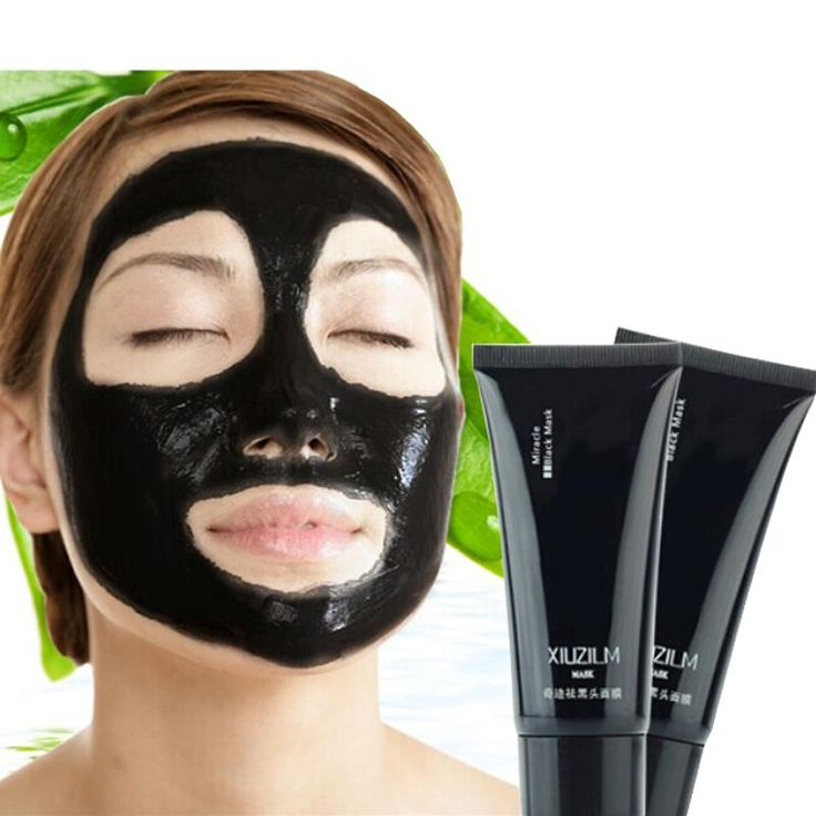 1Pcs Black Mask Black Head Acne Reomval Face Mask Blackhead Remover Acne Treatment Peel Off Face Skin Care Deep Cleansing Masks