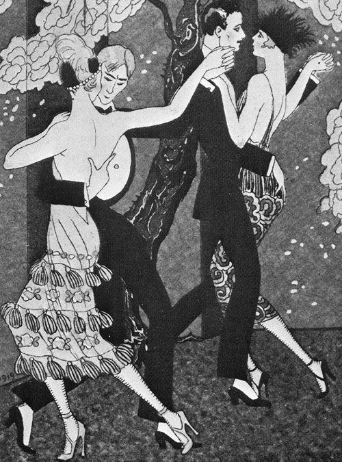 Tango, Paris, 1920