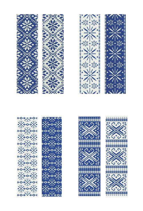peyote_patterns_winter.jpg 500×734 pixels