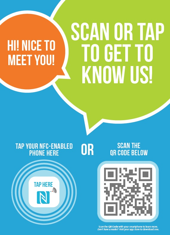 Looking to learn about Near Field Communication (NFC) and QR Codes? This poster may help!