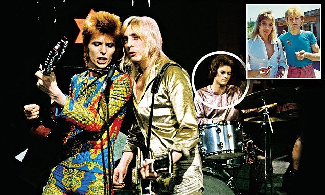 Woody Woodmansey remembers life on tour with The Spiders From Mars