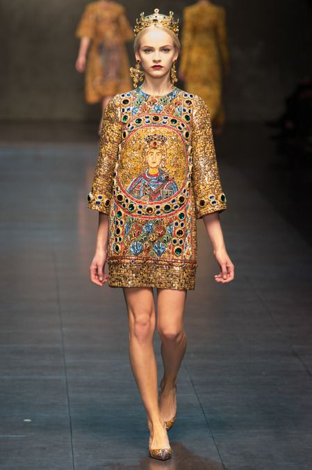 Dolce & Gabbana, Fall 2013 Ready-To-Wear Collection