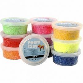 http://www.yourzoap.nl/ Foam Clay -  10x35 gr