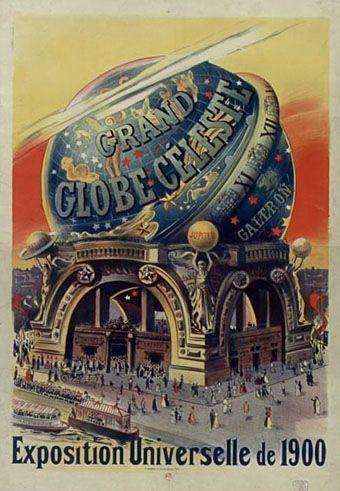 globe celeste paris expo universelle