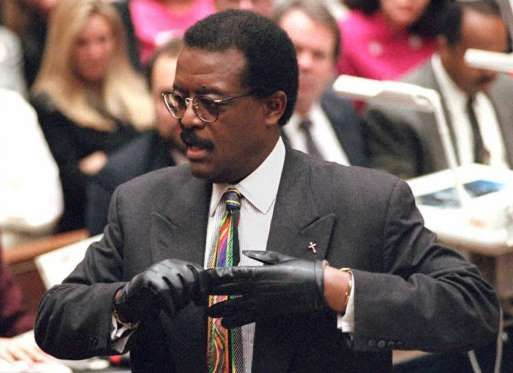 "Cochran Jr. was the lead attorney of Simpson's defense team. He was well known for his courtroom quips. His comment on a blood-stained leather glove that was recovered from the crime scene and was alleged to belong to Simpson – ""If it doesn't fit, you must acquit"" – became a popular catchphrase thereafter.Johnnie Cochran Jr. - Vince Bucci/AFP/Getty Images"