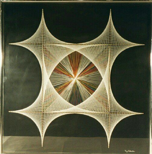 Geometric String Art: Summer ToDo