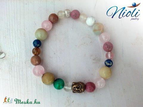 Meska - Vidám meditáció karkötő Niolijewelry kézművestől