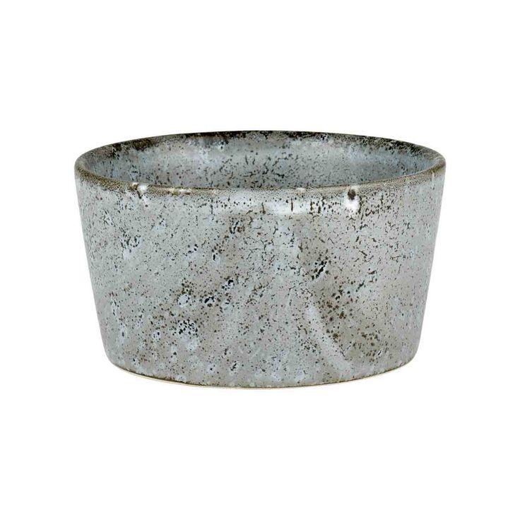 Bitz STONEWARE Reative Marmoriert Grau Matt   Ramekin Ø 9 Cm Material:  Keramik / Feinsteinzeug