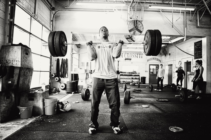 Johnathan Haynes from CrossFit Central/RedBlack Gym