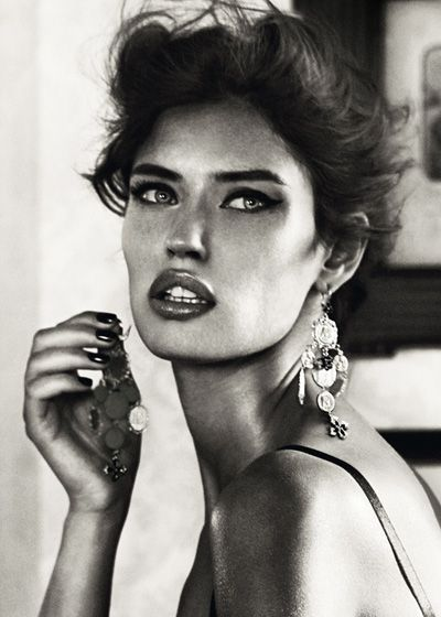 Bianca Balti for Dolce & Gabbana Jewelry Fall Winter 2011.12