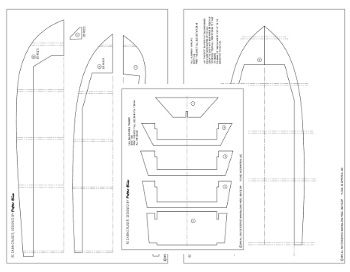 RC boat plans in pdf format for instant access.