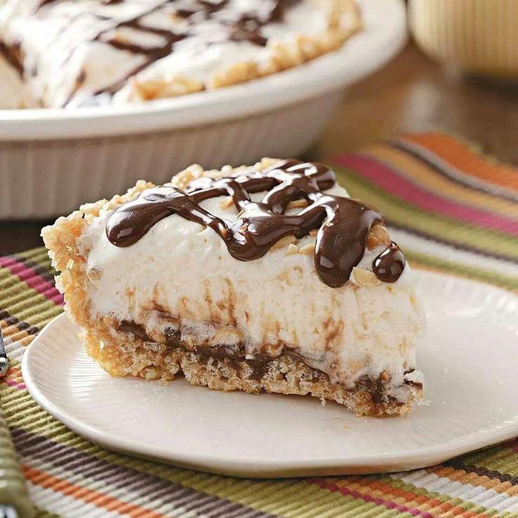 Fugde Sundae Pie | Dessert Recipes | Pinterest