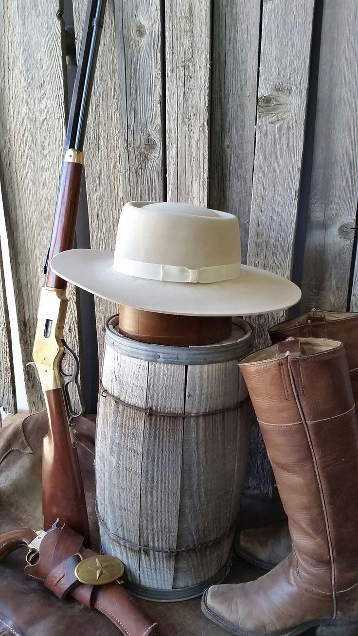 Vaquero Cowboy Hat, Vintage western cowboy hat