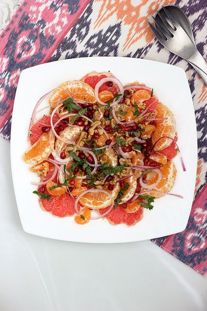 Winter Citrus Salad | Tasty Yummies | #glutenfree #vegan