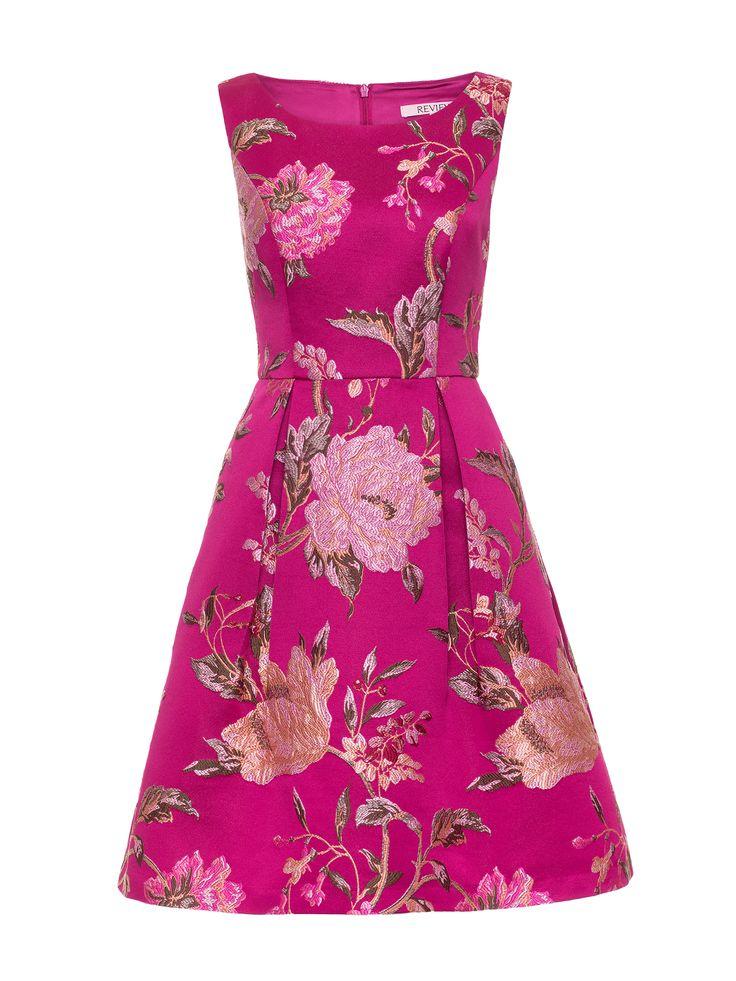 Chateau Rose Dress | Raspberry | Dresses