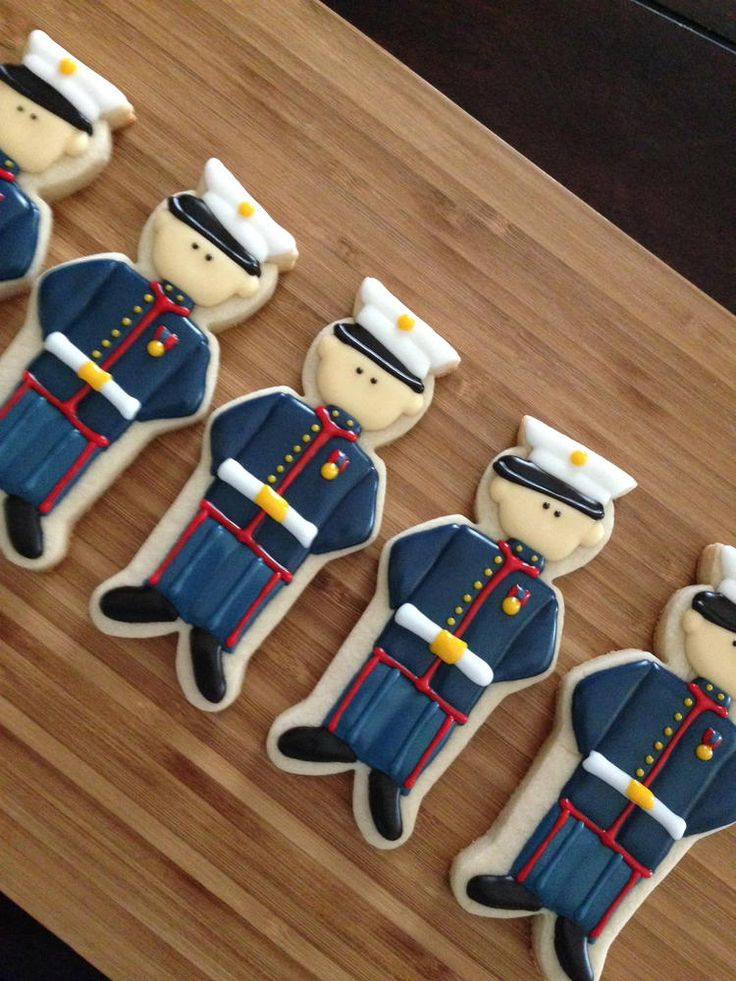 Marine cookies | Cookie Connection